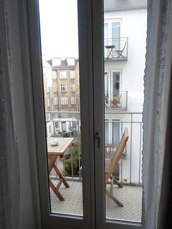Axel Guldsmeden - Guldsmeden Hotels: nice little balcony