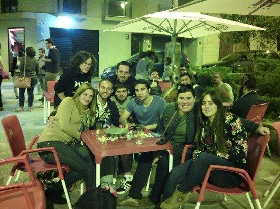 La Placeta : Con amigos
