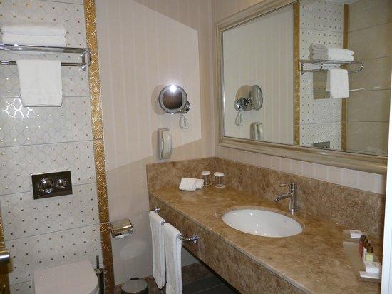 QafqaZ Baku City Hotel & Residences: Мрамор