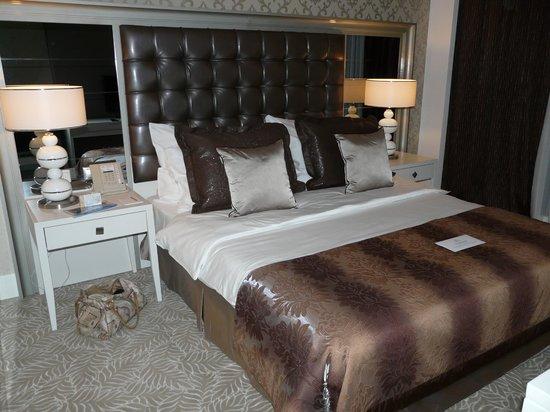 QafqaZ Baku City Hotel & Residences: Кровать в номере)