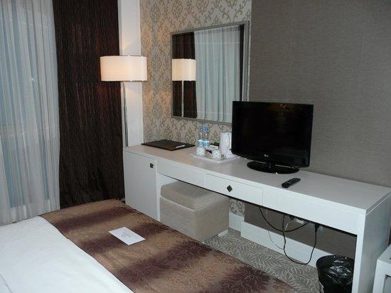 QafqaZ Baku City Hotel & Residences: Чудесный интерьер