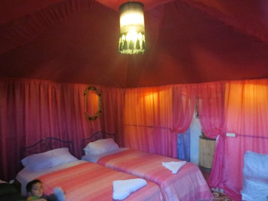 Morocco Discovery Holidays: our kids room....