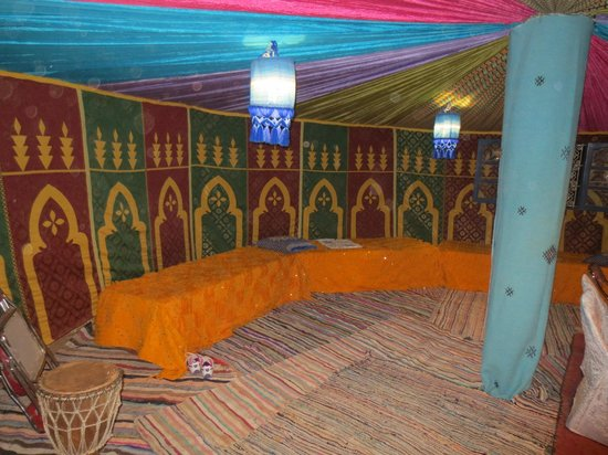 Morocco Discovery Holidays: dinning room at Sahara Camp