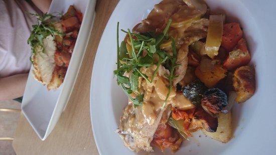 Butternut Squash: Roast Pork