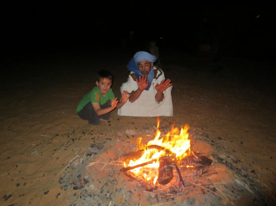 Morocco Discovery Holidays: with Jousef at the camp.....