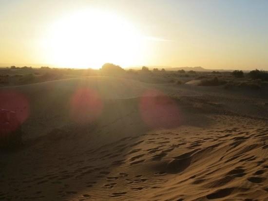 Morocco Discovery Holidays: sunrise....