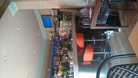 Butternut Squash: bar area