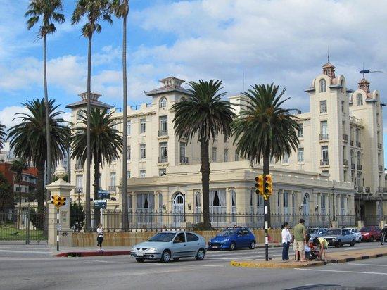 Orpheo Express Hotel : Vista de Montevideo.