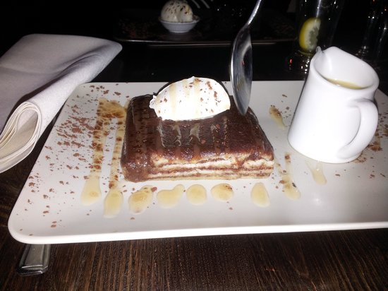 Quantro Restaurant: choc bread n butter pudding...... a-maze-in
