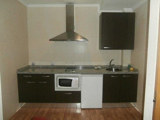 JCH Aparthotel Congreso: la cocina