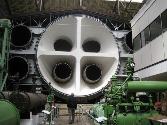 Brooklands Museum: Barnes Wallis Atmospheric chamber