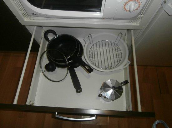 JCH Aparthotel Congreso: las escas cosas que hay para cocinar