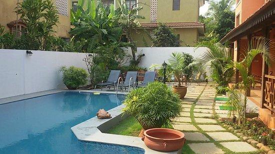 Aguada Anchorage - The Villa Resort: private pool for 04 bedroom villas