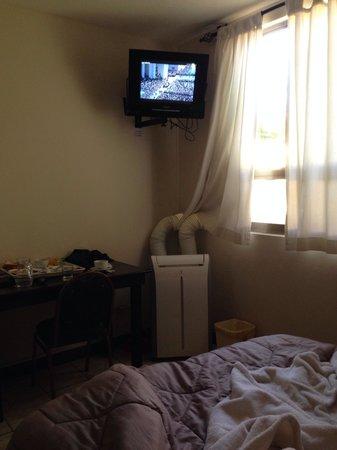 Hotel Casa Blanca Inn: Aire acondicionado, muy útil
