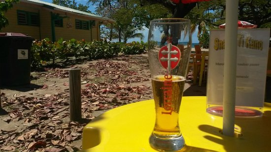 Délices Caraïbes : Vue de la terrasse !