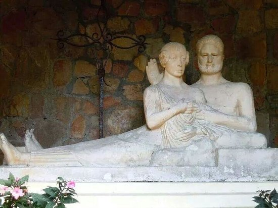 Villa Domergue : Le statu de demergue est sa famme.