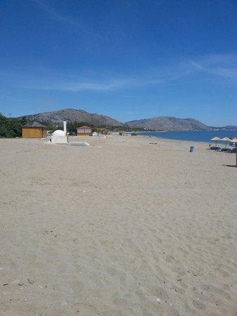 Mitsis Rodos Maris Resort & Spa: Beach - but no water sports