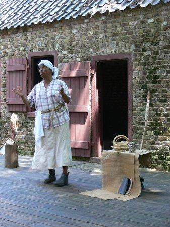 Boone Hall Plantation : Gulah presentation