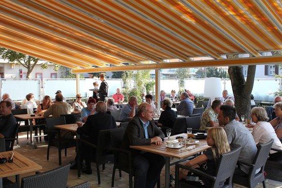 Restaurant Soleil : Garten-Terrasse