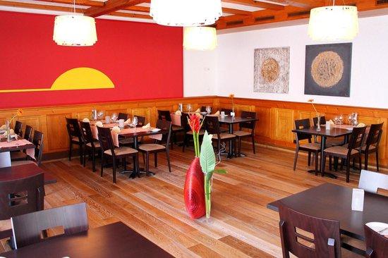Restaurant Soleil : Saal-Restaurant bis 80 Personen