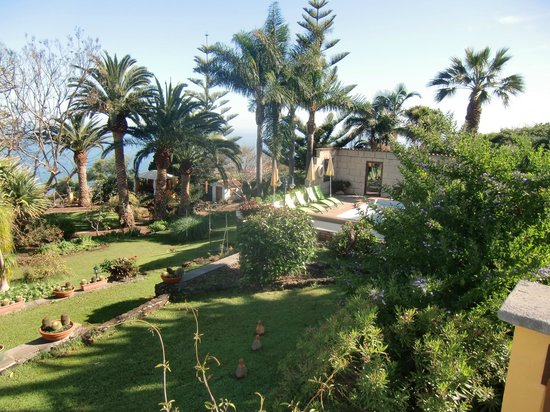 Finca Casa-Vieja : great landscaped garden