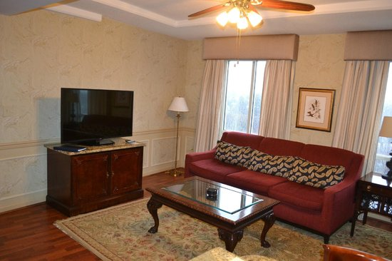 Wyndham Old Town Alexandria: Living Room