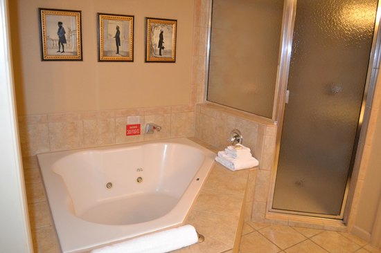 Wyndham Old Town Alexandria: Master Bathroom