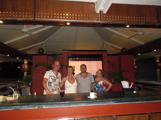 Reef Oasis Beach Resort : Taken by HANY (barman)  at the Columbus Bar