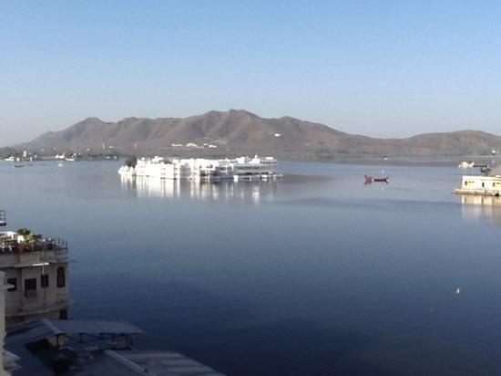 Jaiwana Haveli : view from hotel restaurant
