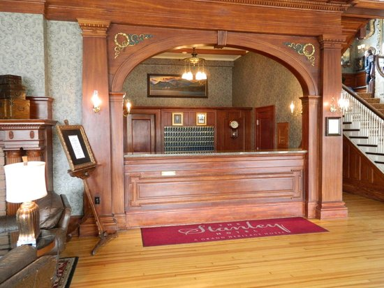 Front Desk at the Stanley Hotel