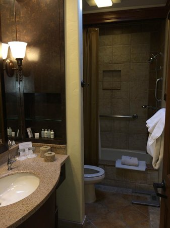 Canyon Ranch in Tucson: Bathroom
