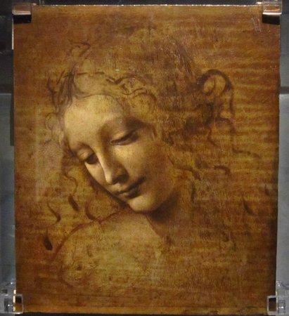 National Gallery (Galleria Nazionale): La Scapigliata by Leonardo da Vinci