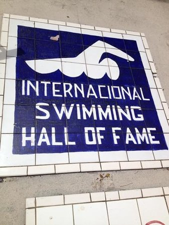 International Swimming Hall of Fame : of interest to swimmers and non-swimmers
