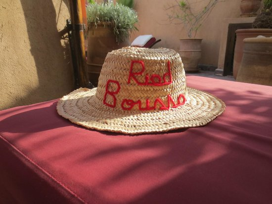 Riad Boussa: terrace