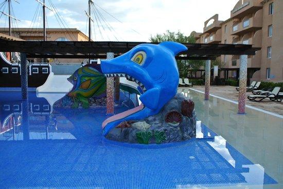 Protur Bonaire Aparthotel: Children's Splash Pool