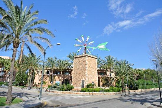 Protur Bonaire Aparthotel: Hotel Entrance