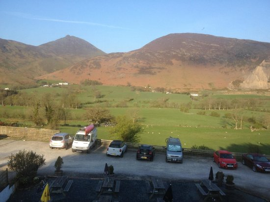 Swinside Inn: View from the catbells room