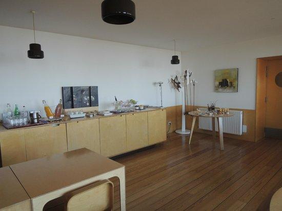 Casa das Penhas Douradas : Breakfast room