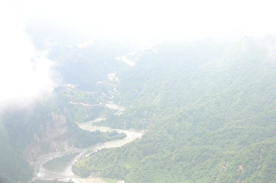 Triund Hill: View while climbing