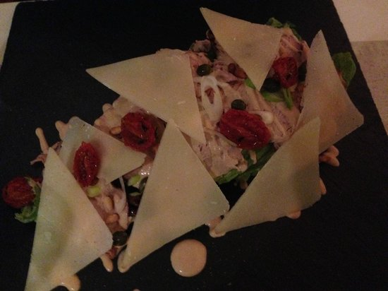 Eat at Milton's: Veal and cheese salad