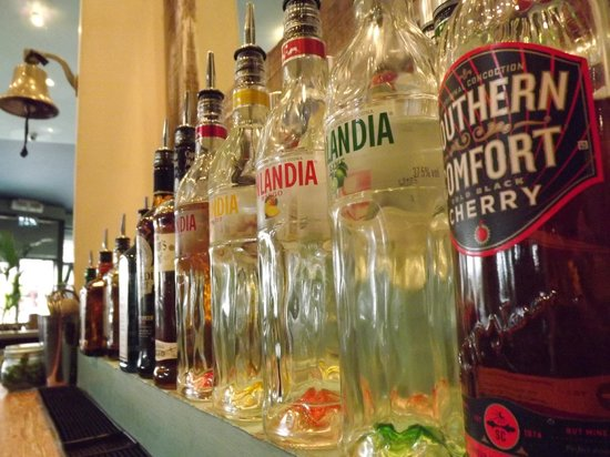 Salt Cardiff Bay: A selection of spirits available