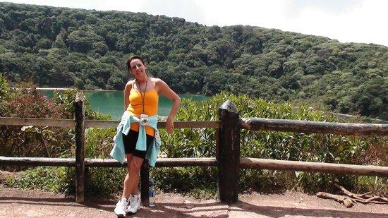 Poas Volcano: botos meer
