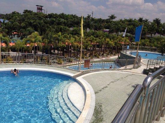 Porac, Filippinene: Pool