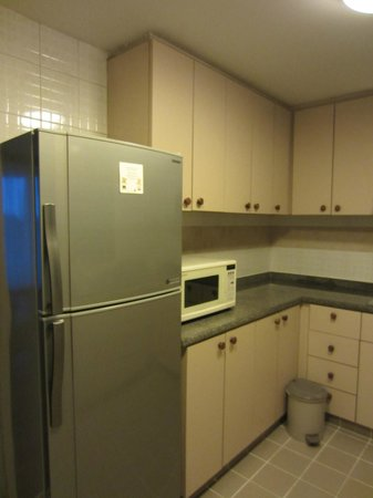 Somerset Ho Chi Minh City : Fridge, microwave oven and washing machine provided
