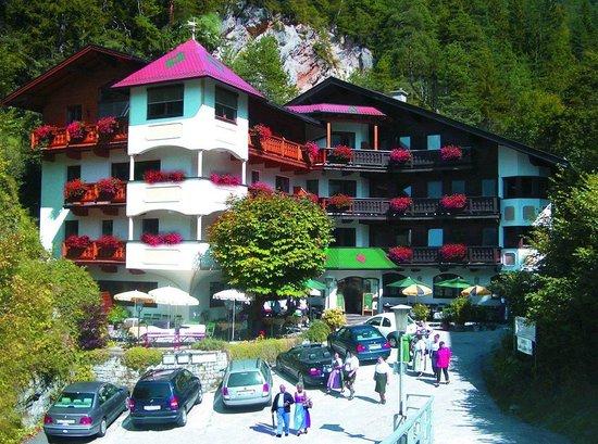 Hotel Gasthof Felsenkeller: Hotel im Sommer