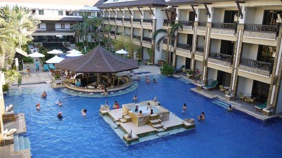 Henann Regency Resort & Spa: Taken from our room balcony.
