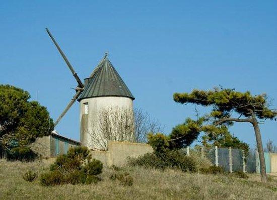 Les Quatre Vents : moulin de la Guérinière