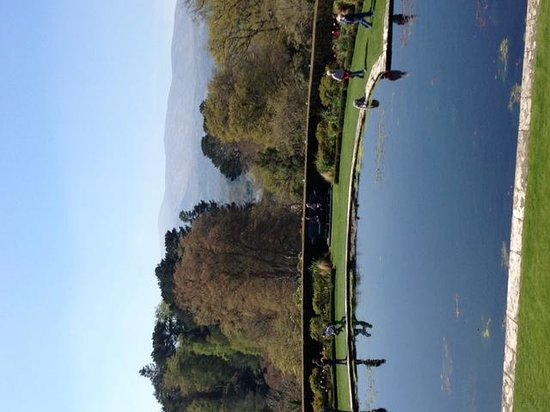 Bodnant Garden: one of many incredible views