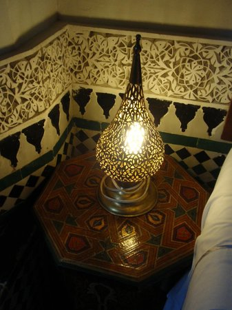 Riad Rcif : One of the rooms (detail)