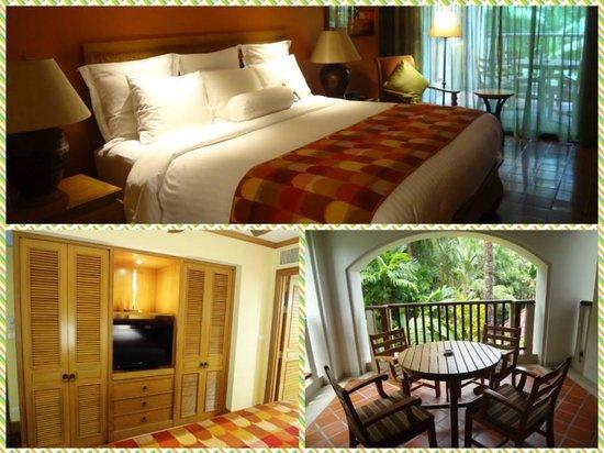 Marriott's Phuket Beach Club: Master bedroom.